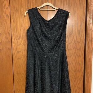 Simple sophistication- black casual dress